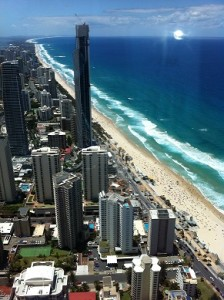 Gold Coast from Skypoint