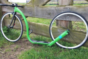 Buy this special 'designer' footbike…